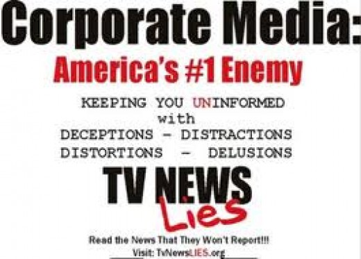 The myth-making, disinformation and outright falsehoods of the mass corporate media often astounds us.  Polls show that the corporate media is no longer trusted by three-quarters of Americans.  We see that as very good news.  In addition, the indepen