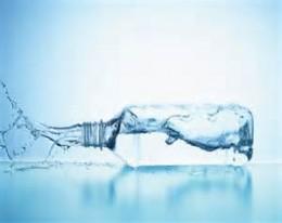 Spilling water bottle