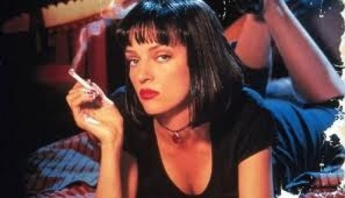 Uma Thurman was just one of the many stars of Pulp Fiction. The film deals with drugs, gangs, fixed fights and much more in a short time. Nothing was too good or too expensive for this gal.