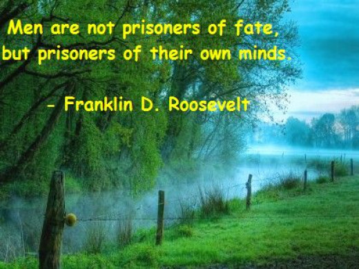 All men are slave of their minds.