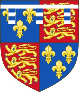 The arms of Edward, Earl of Warwick