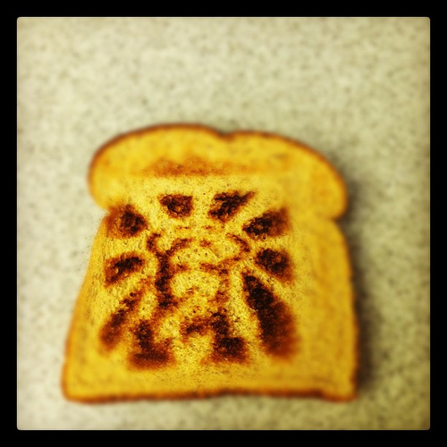 Jesus toast: a miraculous confection.