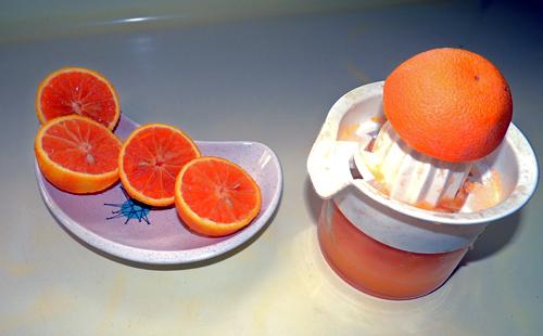 juice 4-5 oranges