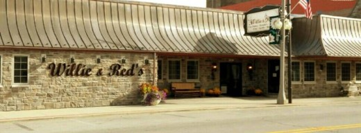Willie & Red's now occupies the location that housed Guy Wellivers Smorgasbord for over 60 years in Hagerstown