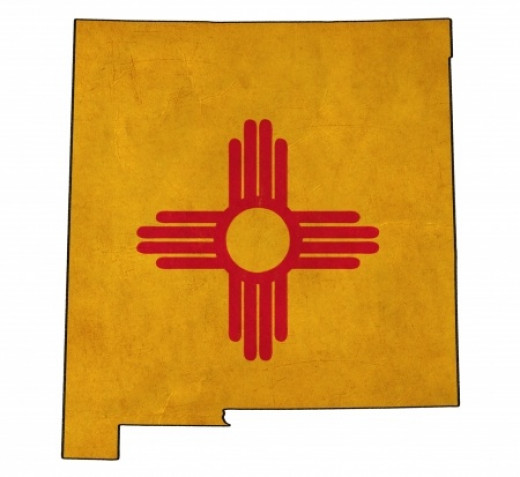 New Mexico Zia Sun Symbol identical to that of the Zia Pueblo