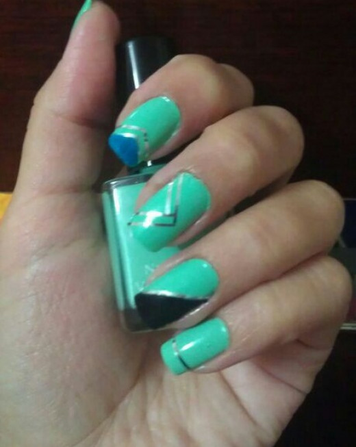 Nail Art Tape The Best Inspiration For Design And Color Of The Nails