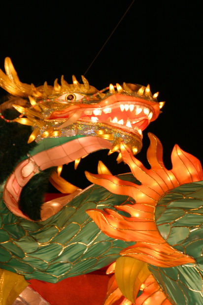 An -image-of-chinese-Dragon