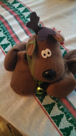 Reindeer and bells are important parts of this story.