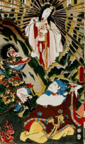 How the Sun Goddess Amatarasu Withdrew From the World: A Japanese Myth