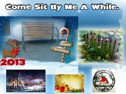 Come Sit By Me A While:Goodbye November And Hello December !!!