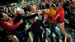 Is the violence during black Friday really acceptable behavior