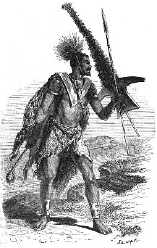 Mosotho Warrior: Moshoeshoe's success in halting the powerful Zulu and Ndebele armies is impressive having in mind that Thaba Bosiu remained a small society. Historians hold that his followers in 1833 only counted around 25.000, growing to an estimat