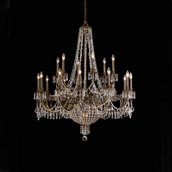 Chandeliers are very classy.