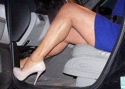 Save Your High Heels from Driving Stress