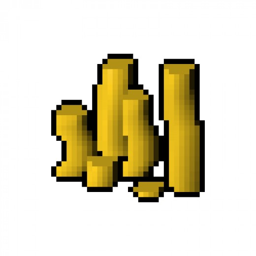 Here is a picture of the final product, Old School Runescape Gold!