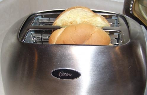 Toast Your Hamburger Buns