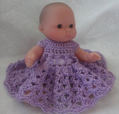 Free Crochet Pattern Doll Jacket : wordsmith2418 on HubPages