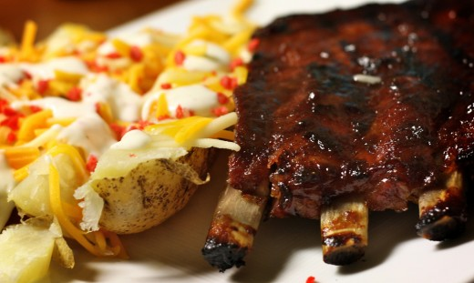 How about a rack of ribs?