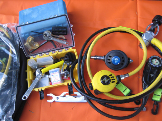 "It helps to develop a ""maintenance kit"" of small tools, O-rings, and replacement parts."