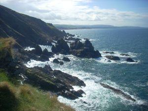 Scottish Borders Coastal Scenery