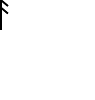 Ansuz/Æsc rune, on which Ash is modelled