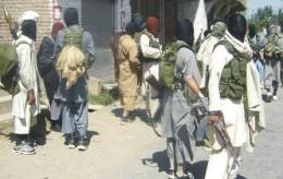 Members of the Black Army in Swat District, Pakistan