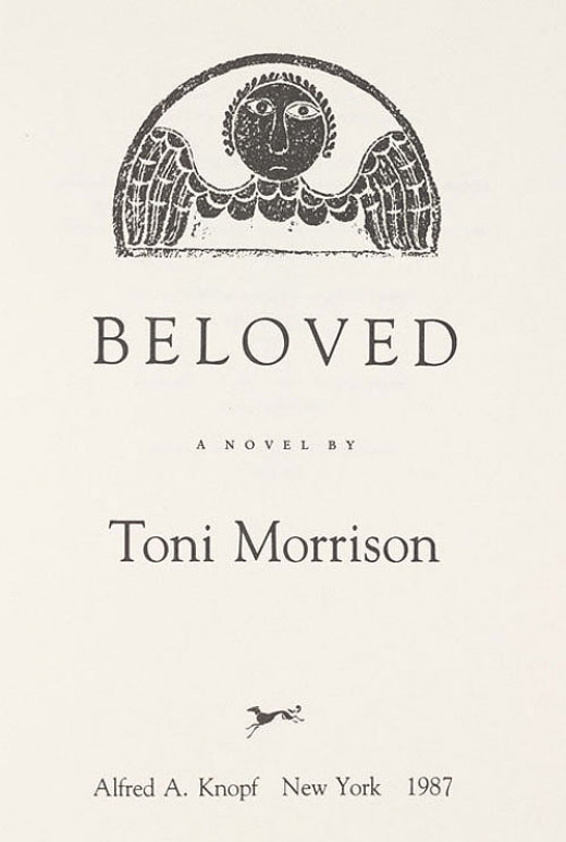 Essays on toni morrisons beloved