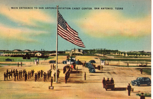 This (sic) the Gateway to the largest Cadet Center in Texas, the San Antonio Aviation Cadet Center.