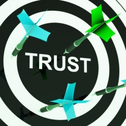 Lack of trust with no basis is a sign of an abusive boss.