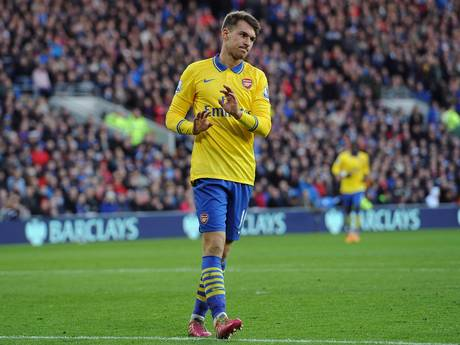 Ramsey not celebrating against his former team, Cardiff City