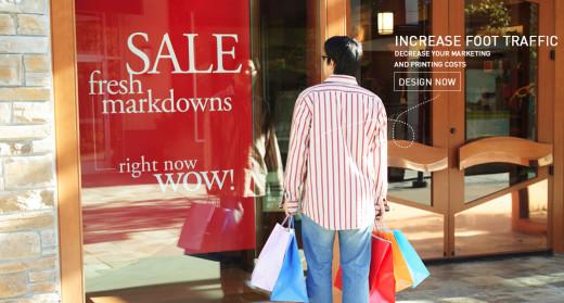 Increase Foot on Shop