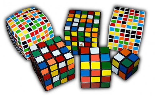 All the variations of Rubik's Cube are challenges that can frustrate many who attempt to solve the puzzles.