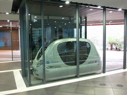 Masdar Driverless Car. Source:  http://www.flickr.com/photos/58978138@N00/6770579011/