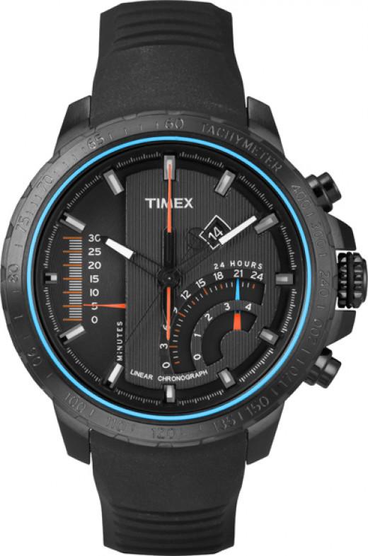 Timex® Adventure Series™ Linear Indicator Chronograph with Intelligent Quartz™ Technology