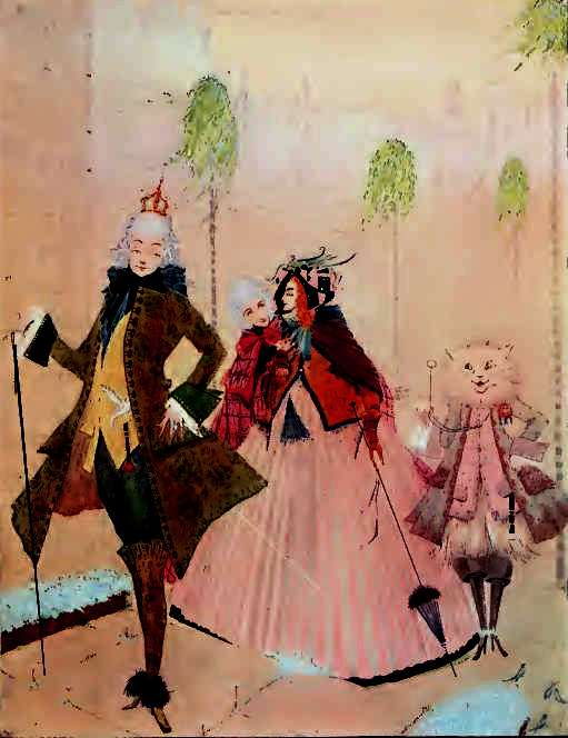 Puss in Boots by Harry Clarke