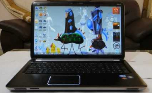 HP ENVY dv7t-7200 Quad Edition Notebook PC