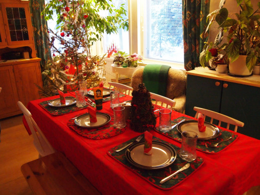 Christmas dinner is a great occasion for families