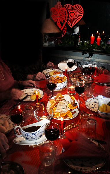 Xmas Dinner celebrations