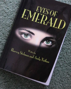 Eyes of Emerald by Harvey Stelman and Andy Nathan - a novel