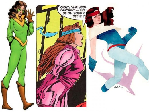 Different Kitty Pryde Costumes