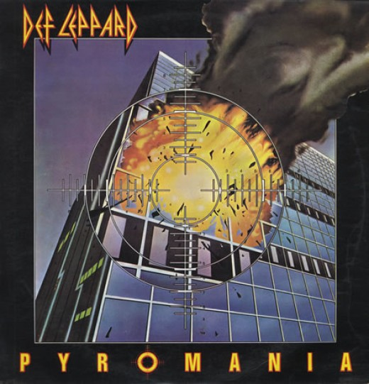 Pyromania album cover.