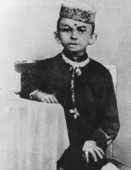 Childhood Gandhi