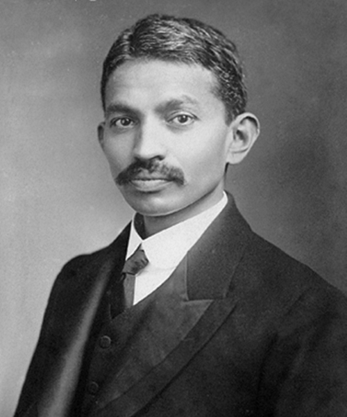 Young Gandhi (1906, London)