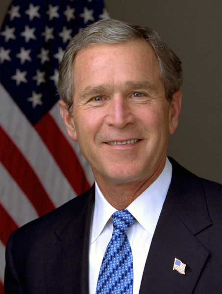 George W. Bush. Public domain.