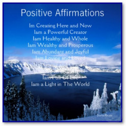 Positive Self Affirmation