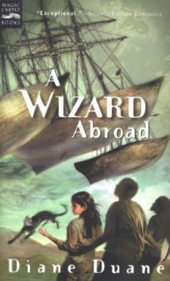 A Wizard Abroad (Young Wizards #4) by Diane Duane