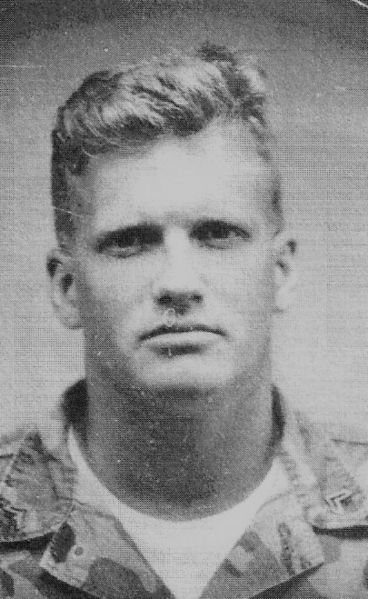 Drew Carey as a US Marine. Public Domain.