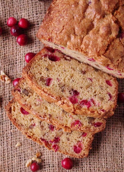 Scrumptious Leftover Cranberry Bread
