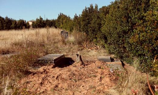 Nelson Mandela's funeral site