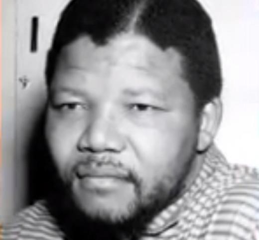 Nelson Mandela's photo